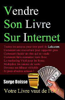 Vendre son Livre sur Internet - livre de Serge Boisse